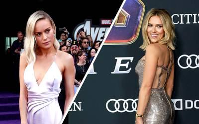 4af8411b026d Scarlett Johansson y Brie Larson deslumbraron con su joyería inspirada en  el poderoso de guante